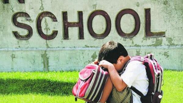child refuses to go to school
