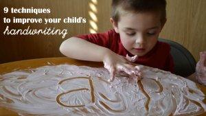 how to improve kids handwriting