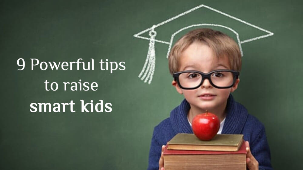 how to raise smart kids