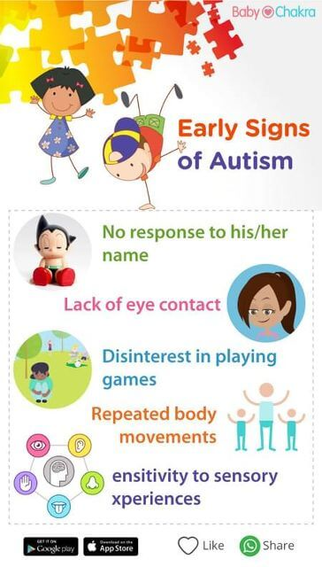 early signs of autism