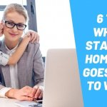 stay-at-home mom chooses to go back to work